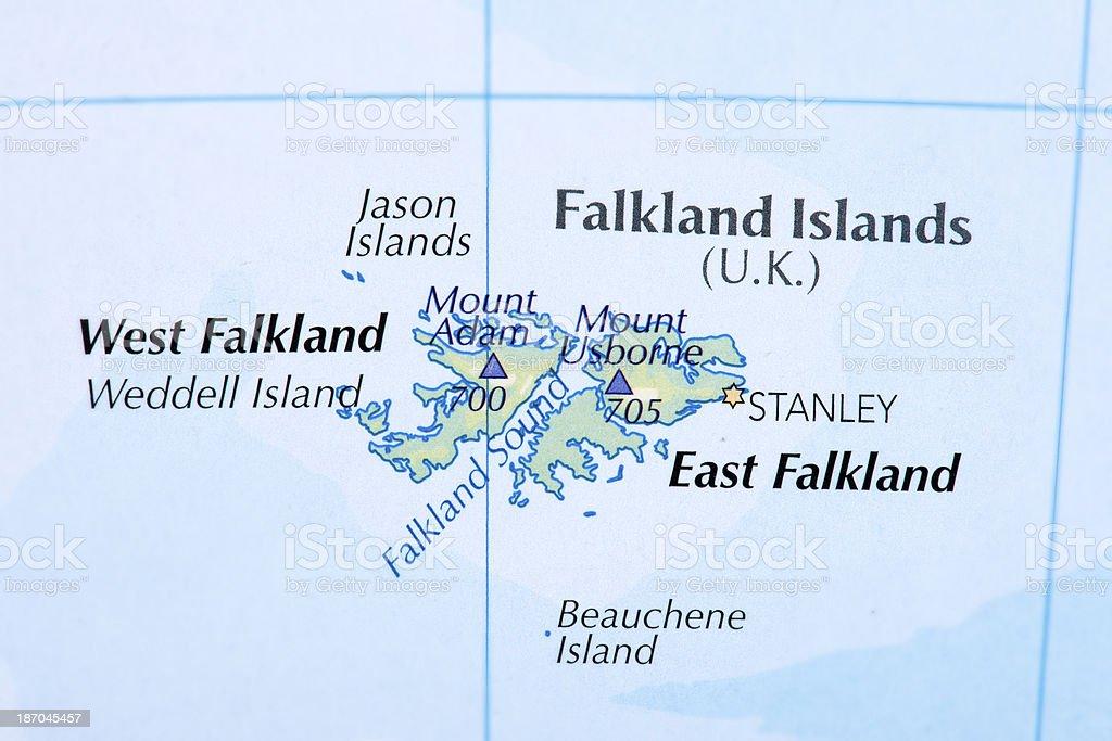 FALKLAND ISLANDS royalty-free stock photo