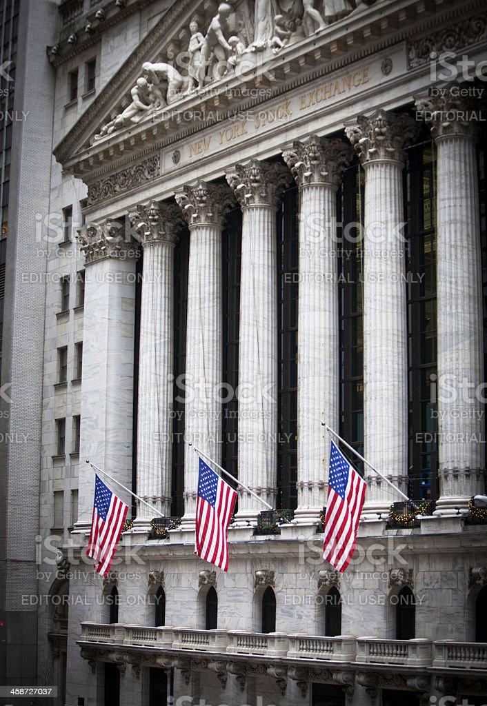 NYSE royalty-free stock photo
