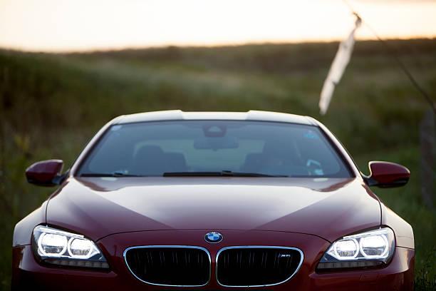 BMW M6 stok fotoğrafı