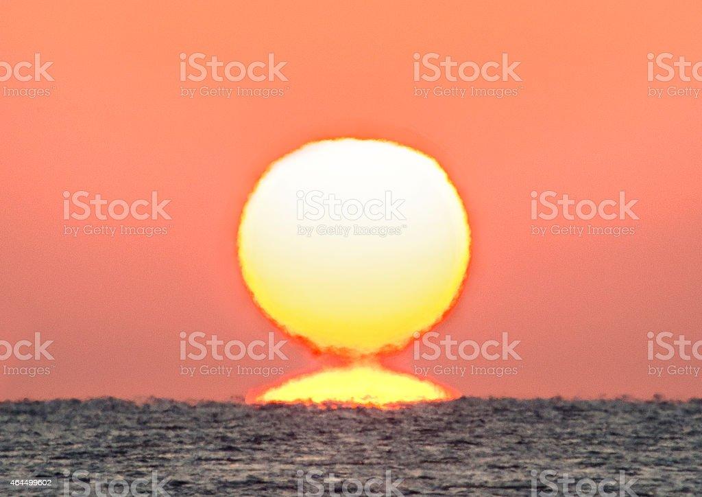 日の出 stock photo