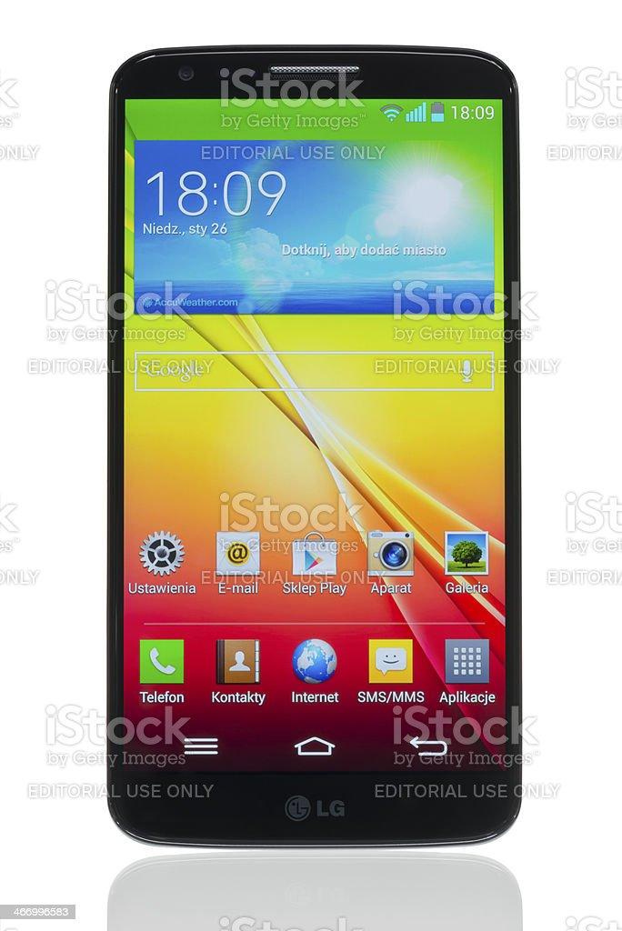 LG G2 stock photo