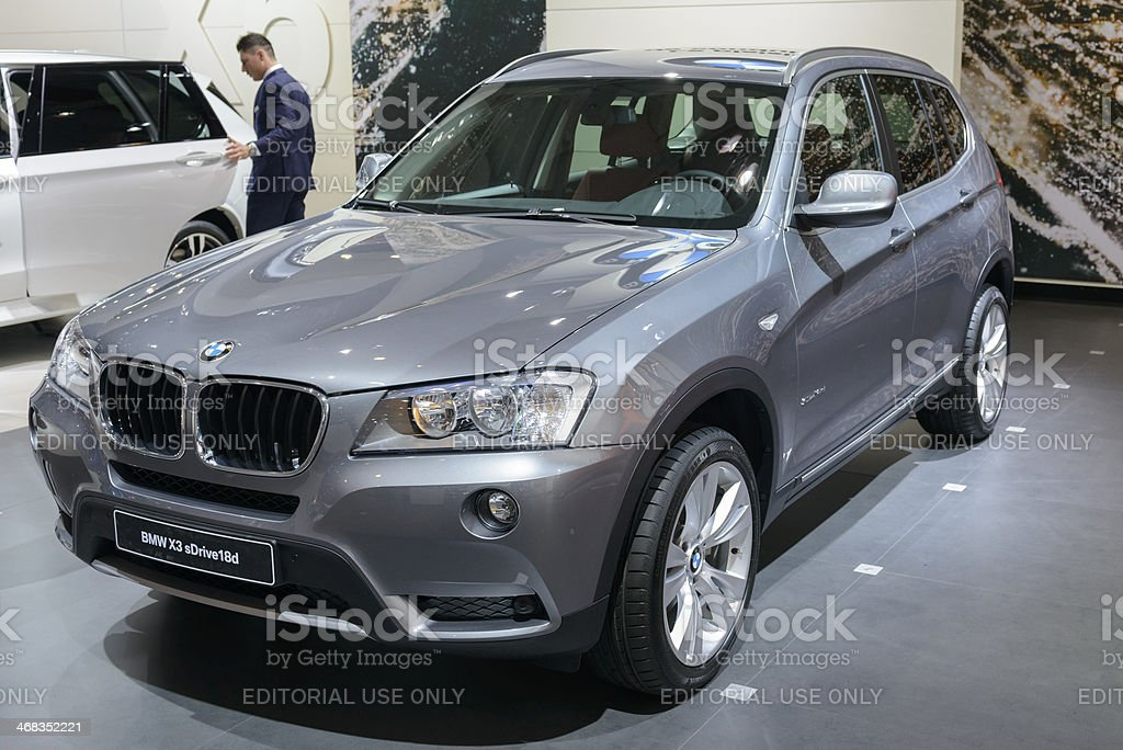 BMW X3 royalty-free stock photo