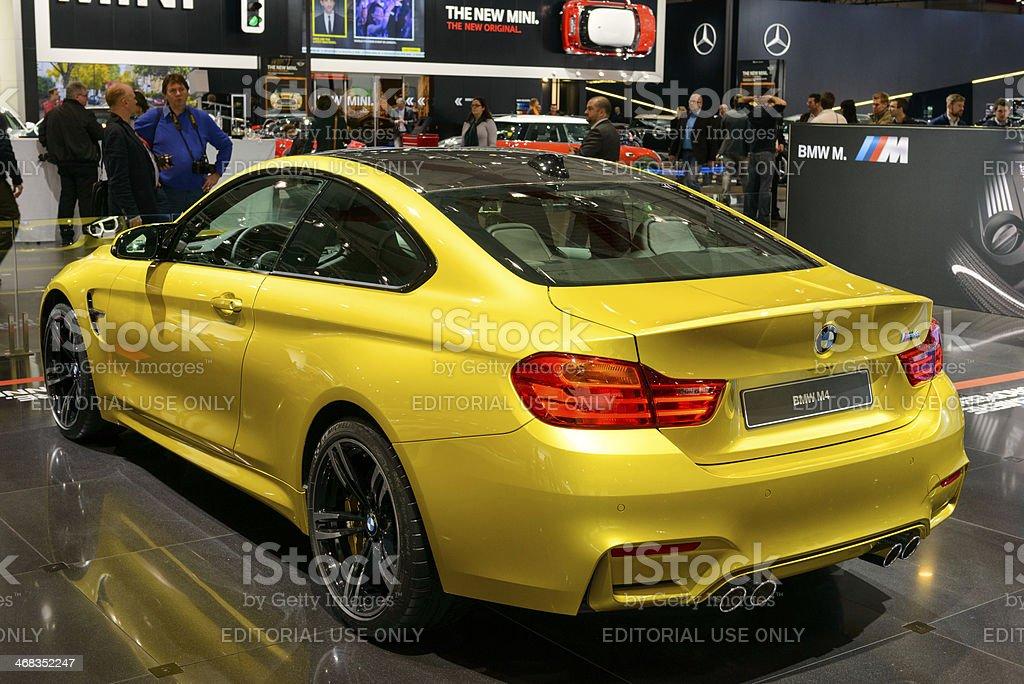 BMW M4 royalty-free stock photo