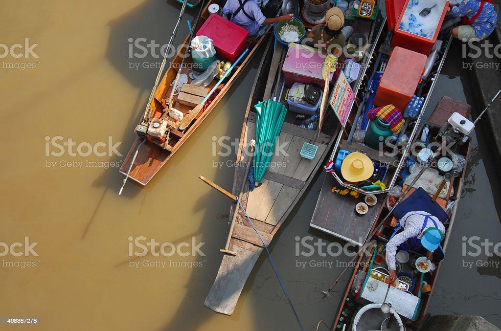 DAMNOEN SADUAK ,THAILAND stock photo