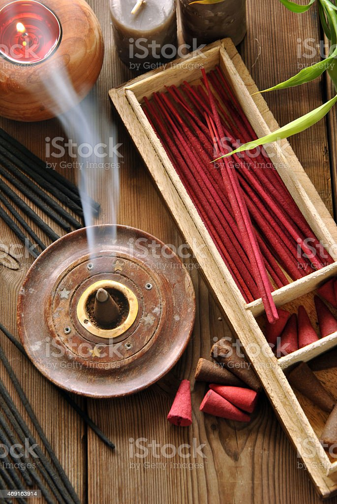 Various Types Of Incense Stock Photo - Download Image Now - iStock