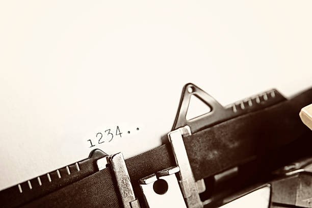 1 2 3 4 - foto de stock
