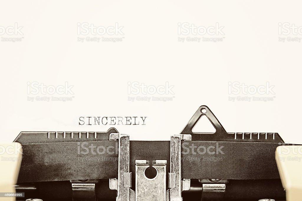 ATENTAMENTE - foto de stock