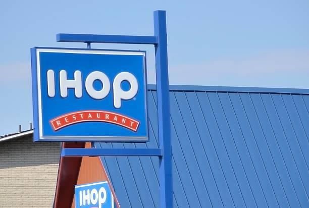 IHOP (International House of Pancakes) stock photo