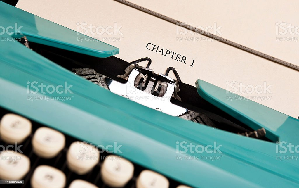 CHAPTER 1 stock photo