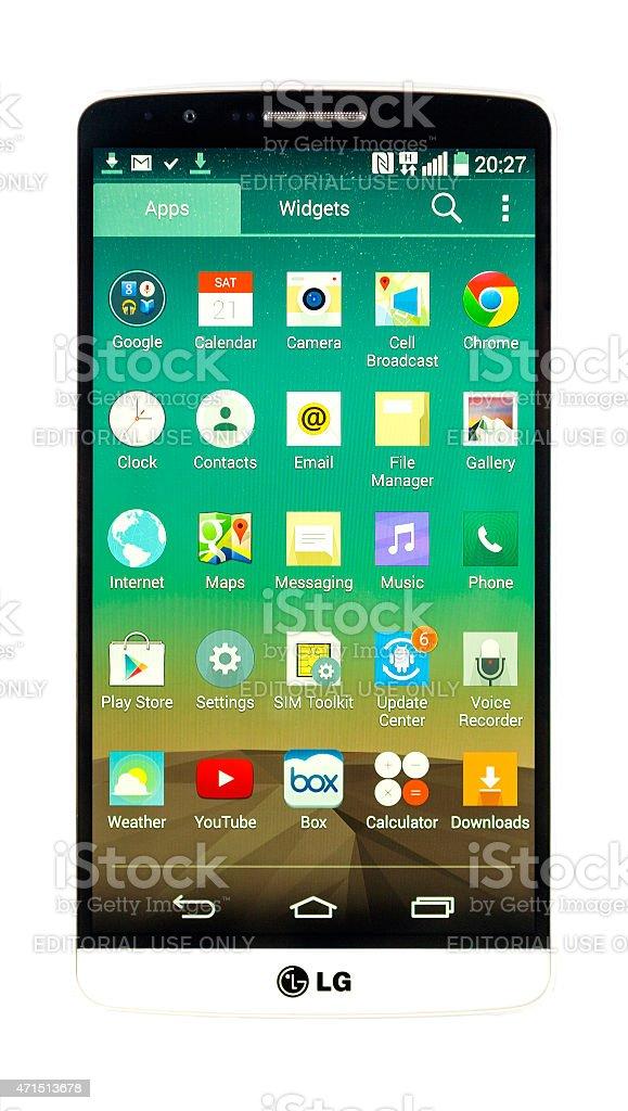 LG G3 stock photo