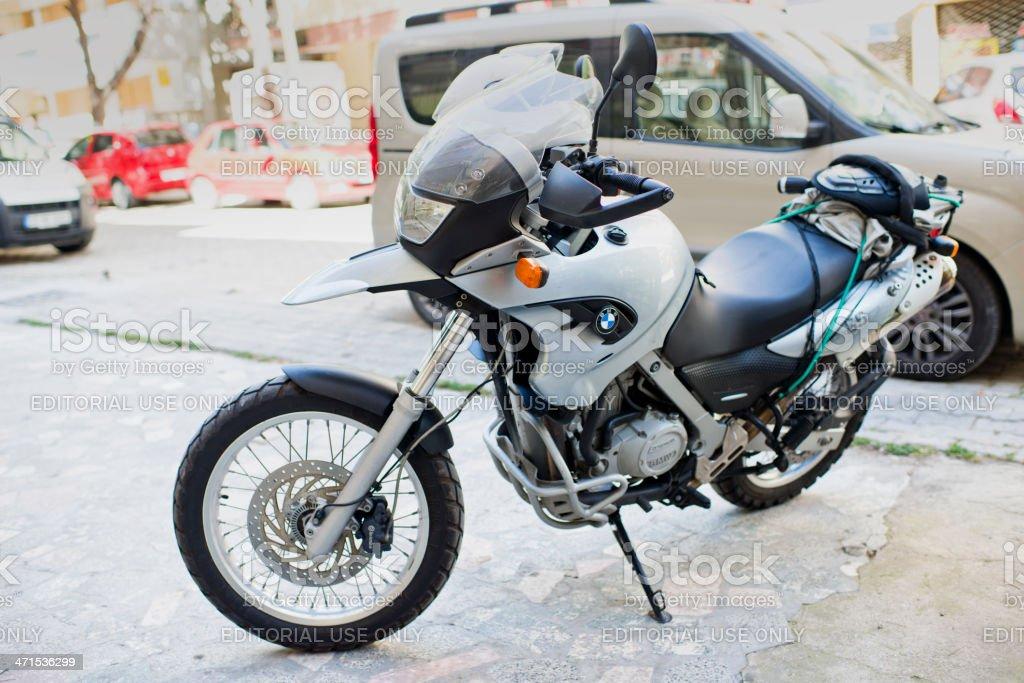 BMW F650GS stock photo