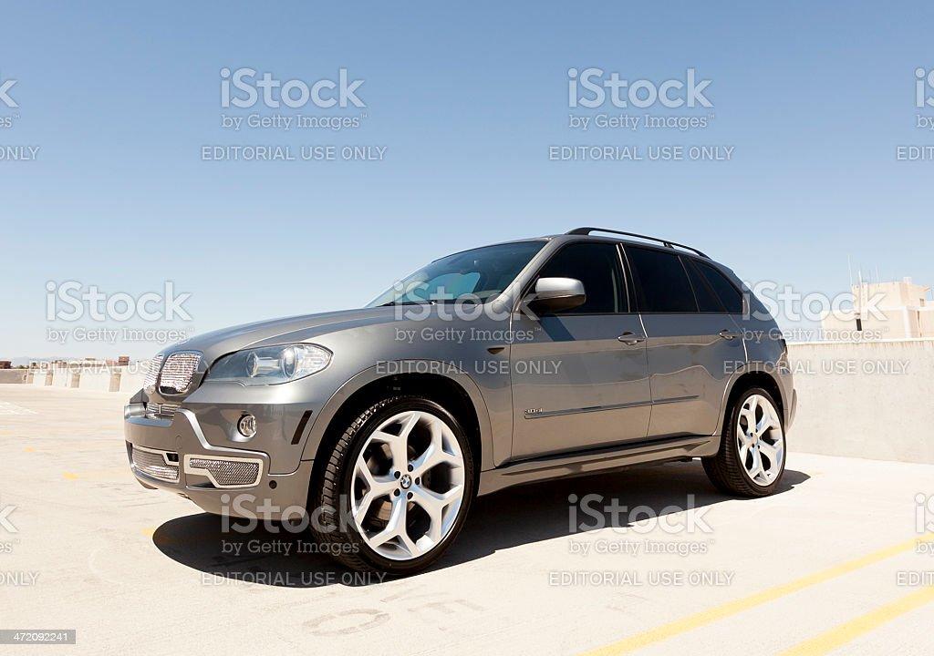BMW X5 stock photo