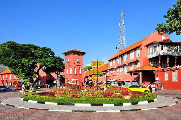 malacca, malaysia - malakka staat stockfoto's en -beelden