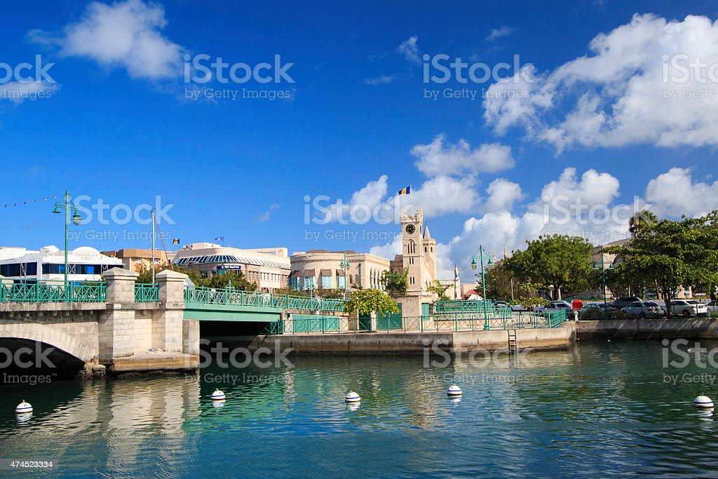 BRIDGETOWN, BARBADOS - foto de acervo