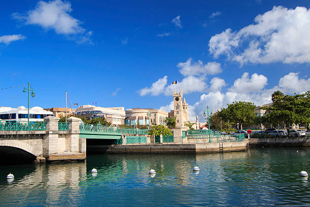 BRIDGETOWN BARBADOS stock photo
