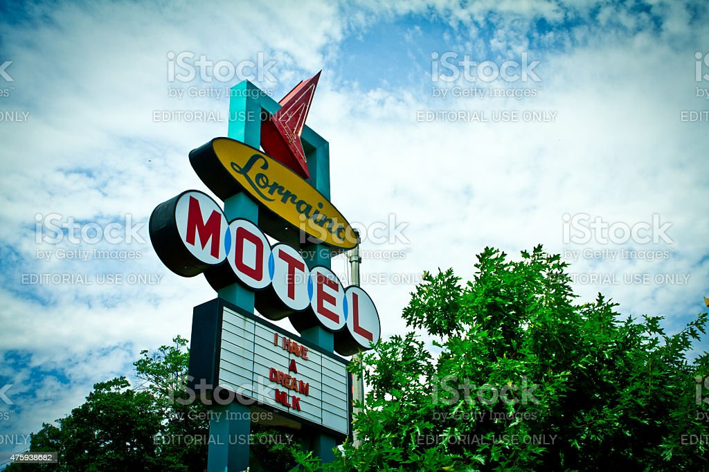 LORRAINE MOTEL, MEMPHIS, TN stock photo