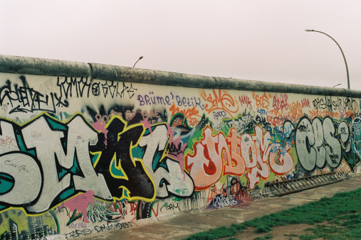 BERLIN WALL CLOUDY