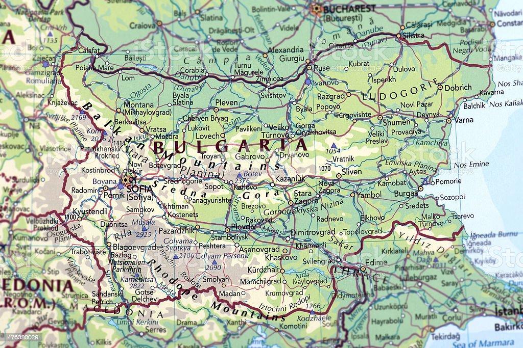 BULGARIA royalty-free stock photo