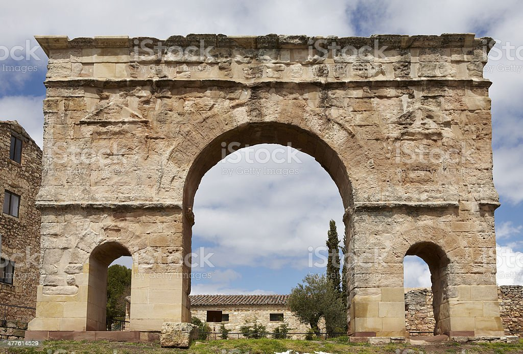 ROMAN ARCH stock photo