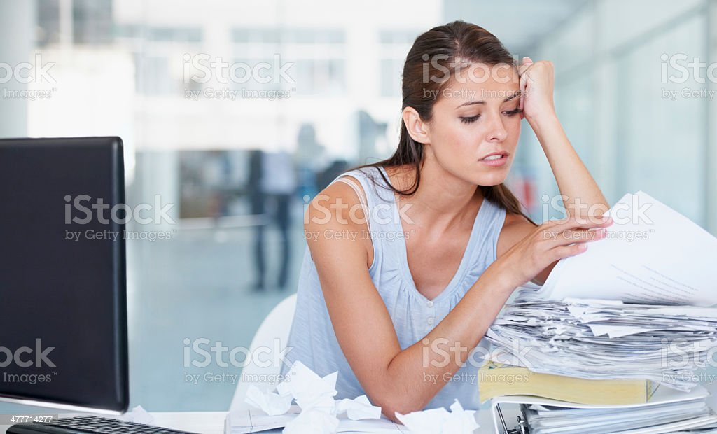 Corporate blues stock photo