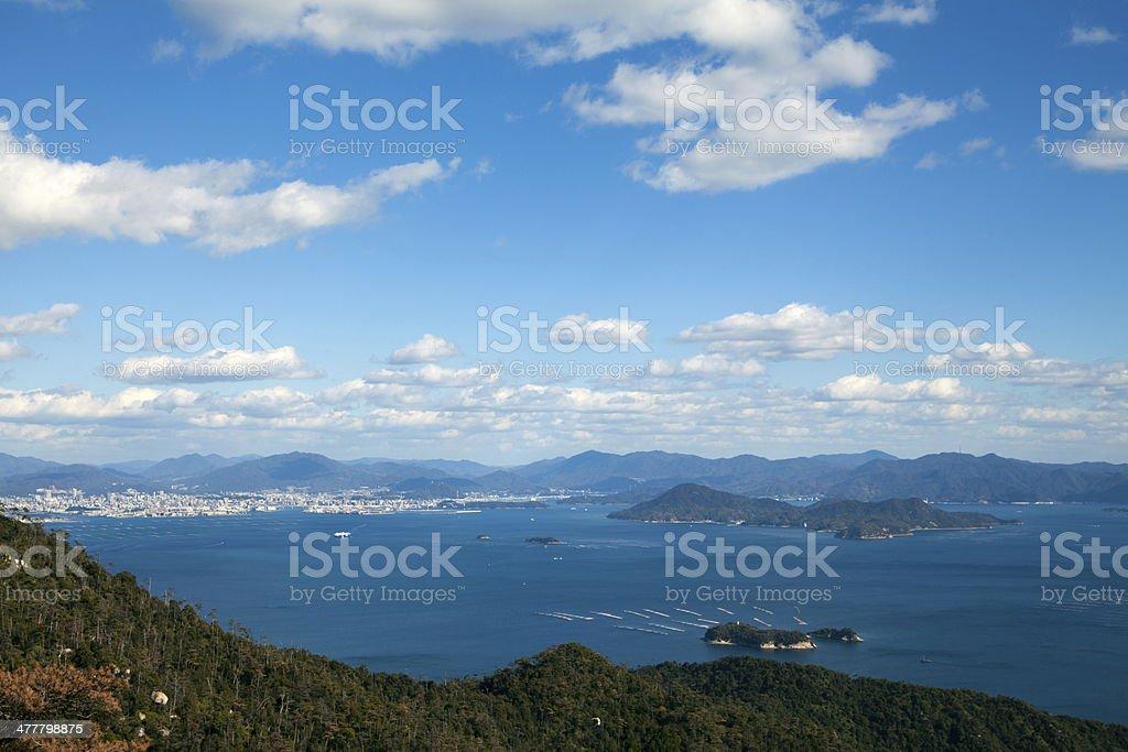 瀬戸内の風景 stock photo