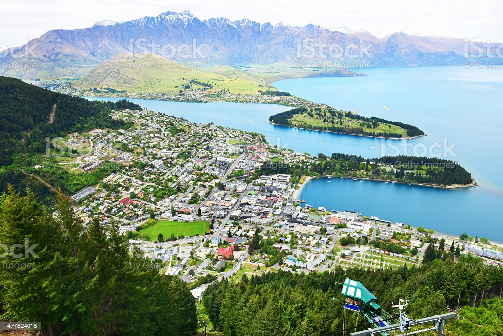 QUEENSTOWN - Royalty-free 2015 Stock Photo