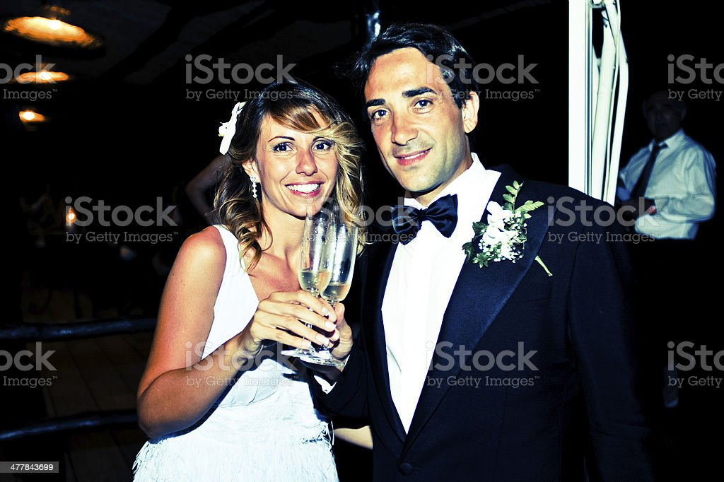WEDDING REPORTAGE royalty-free stock photo