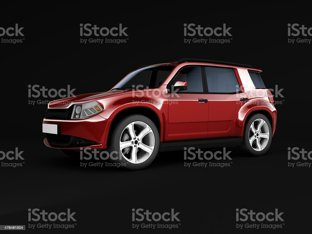 SUV stock photo