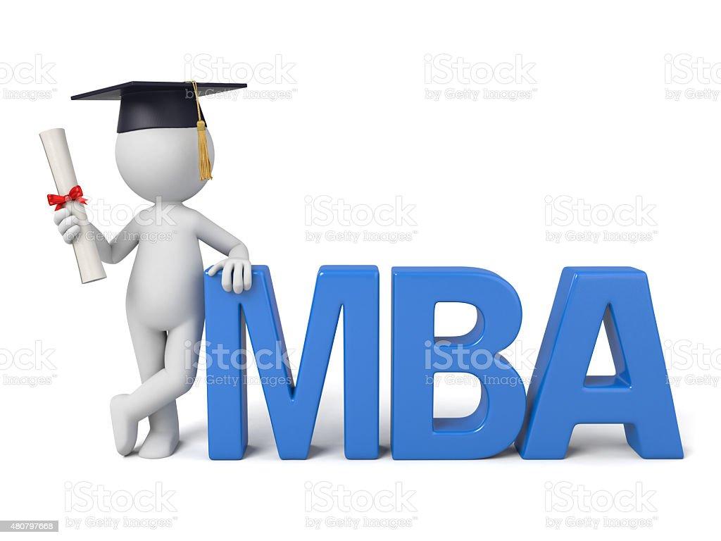 MBA stock photo