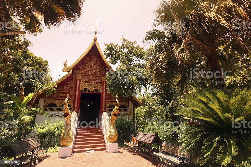 ASIA THAILAND CHIANG RAI WAT PHRA KAEW stock photo