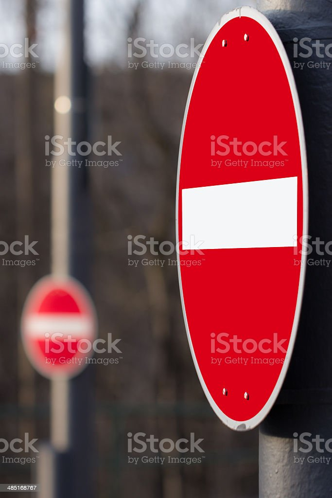 ACHTUNG stock photo
