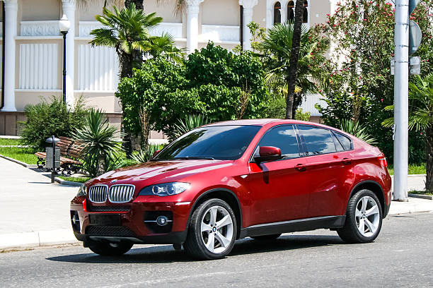 BMW E71 X6 stock photo