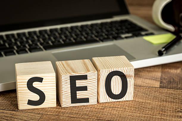 SEO (Search Engine Optimization) stock photo
