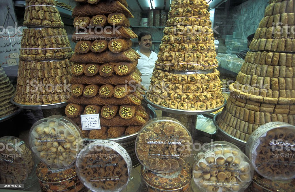 SYRIEN ALEPPO stock photo