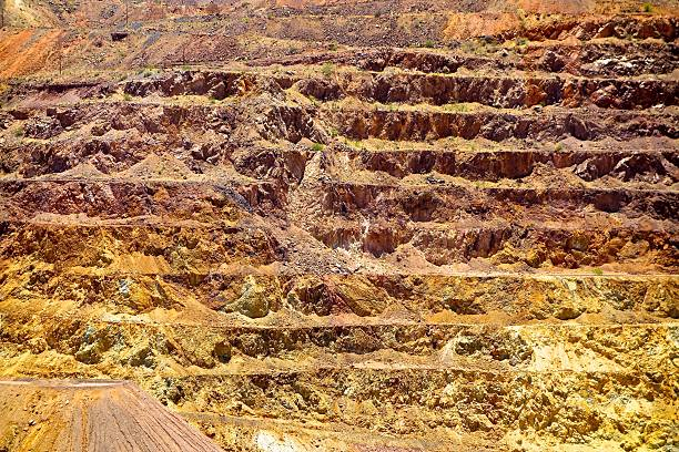 COPPER MINING COPPER MINING pima county stock pictures, royalty-free photos & images