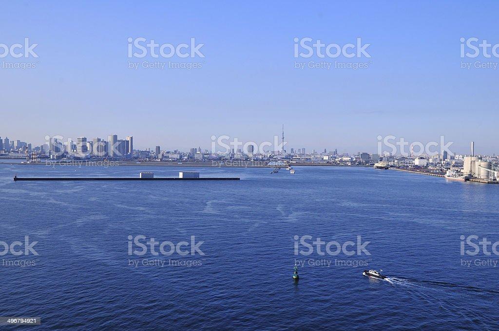 東京湾 stock photo