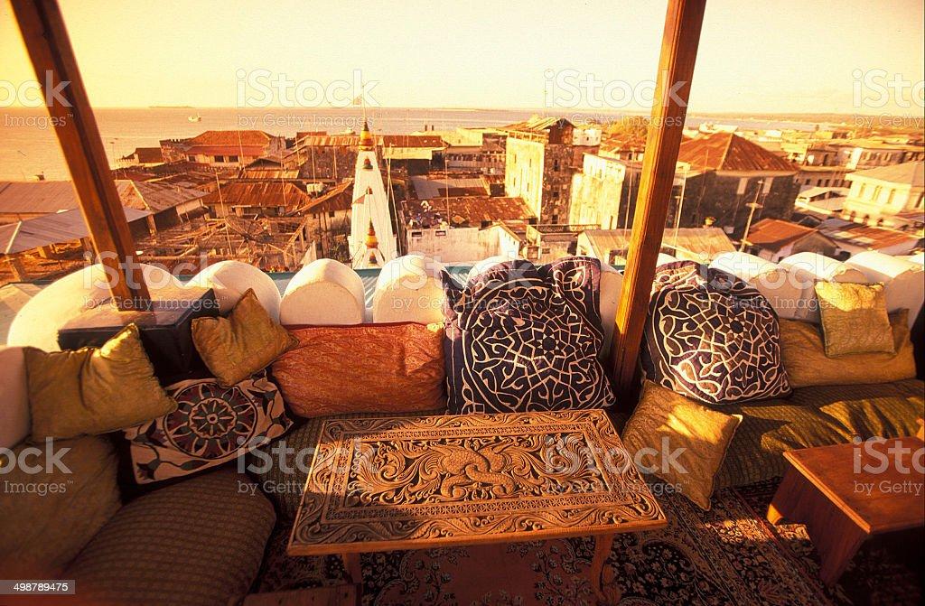 TANSANIA ZANZIBAR STONE TOWN stock photo