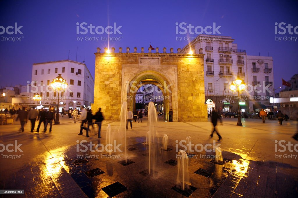 TUNISIA TUNIS CITY stock photo