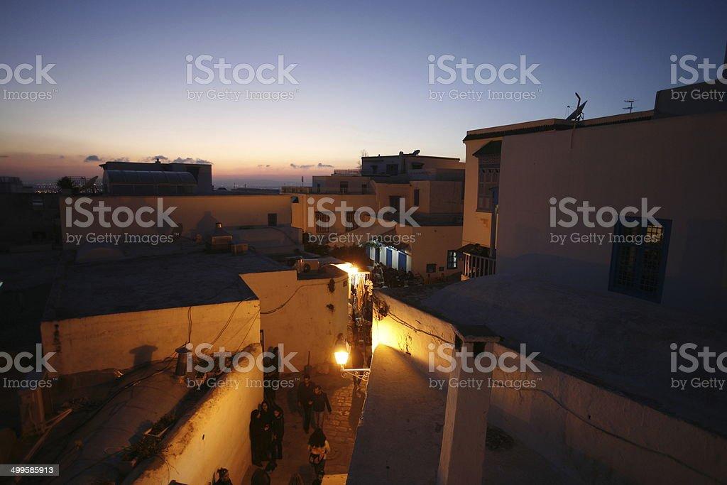TUNISIA SIDI BOU SAID stock photo