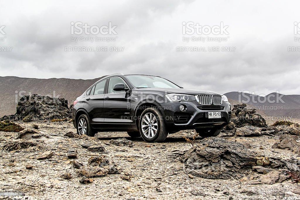 BMW F26 X4 stok fotoğrafı