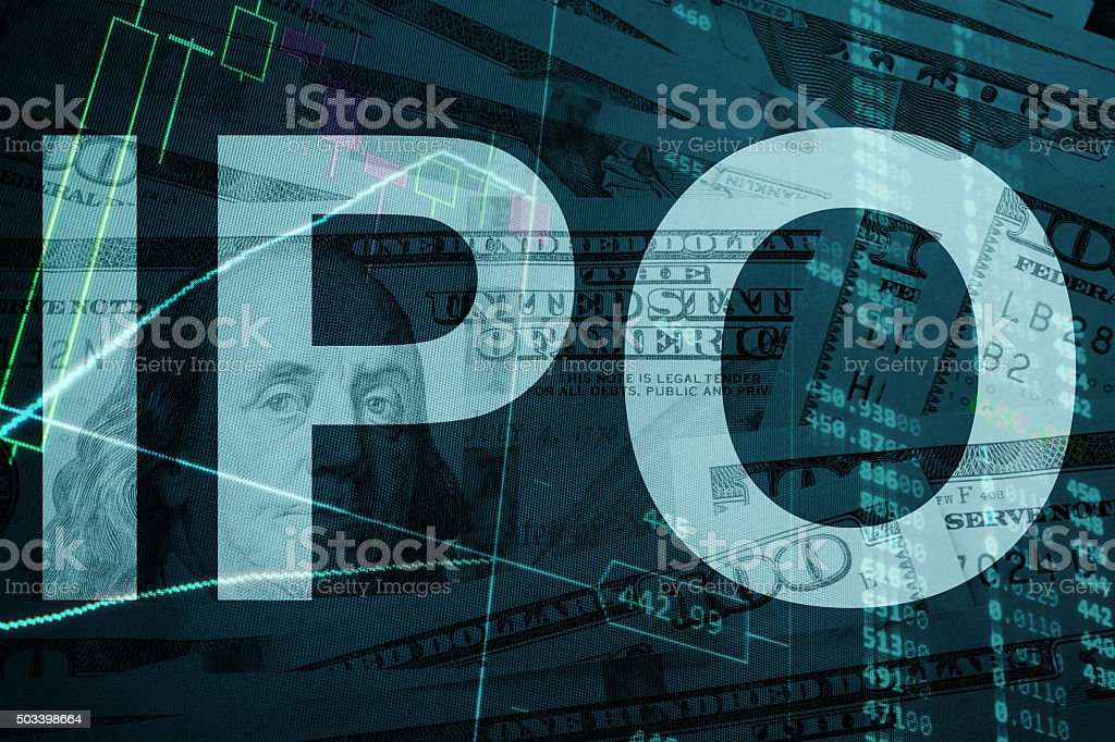 IPO (Initial public offering) stock photo