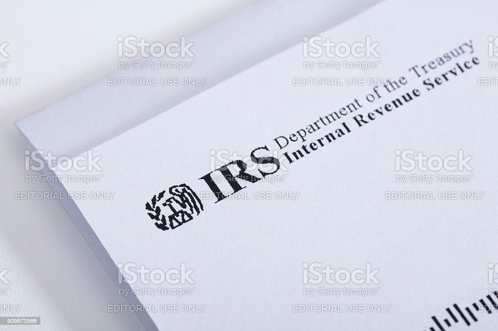 IRS stock photo