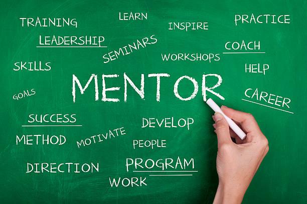 mentor - kreatives schreiben übungen stock-fotos und bilder