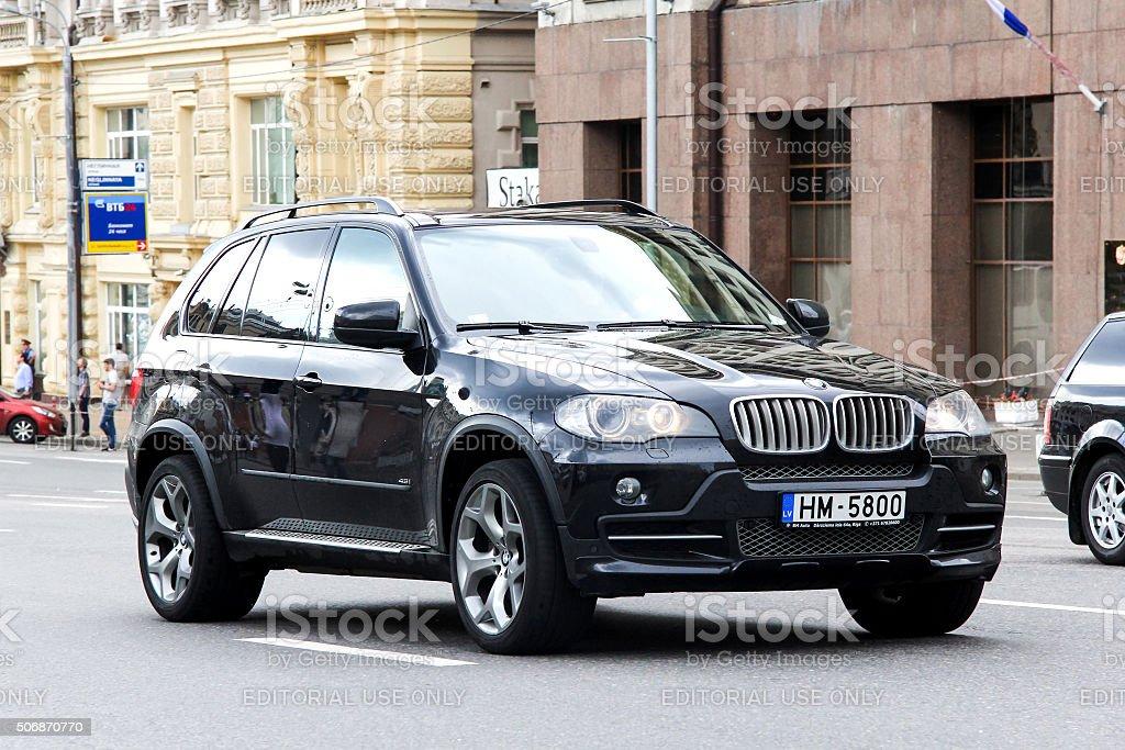 BMW E70 X5 stock photo