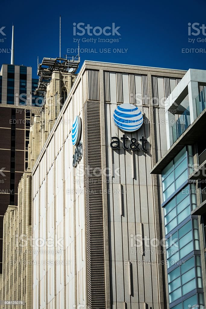 AT&T stock photo