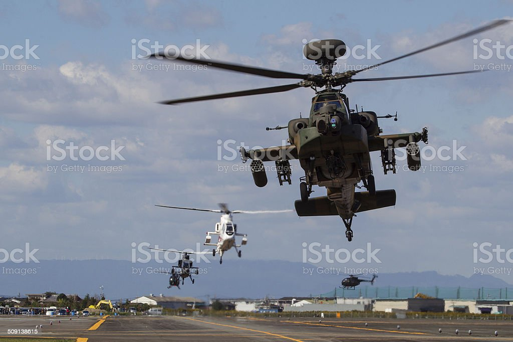 AH-64 stock photo