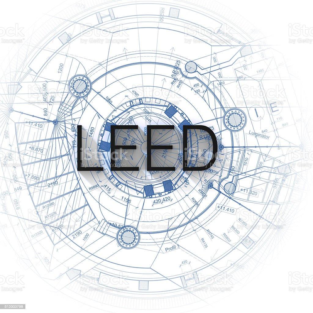 LEED (LIDERAZGO - foto de stock