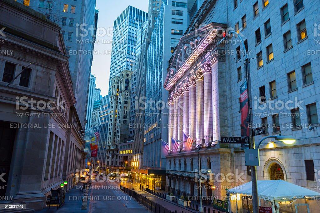 NYSE stock photo
