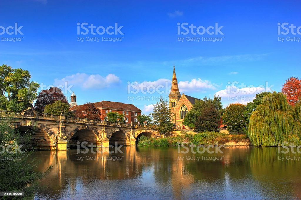 ENGLISH BRIDGE. stock photo