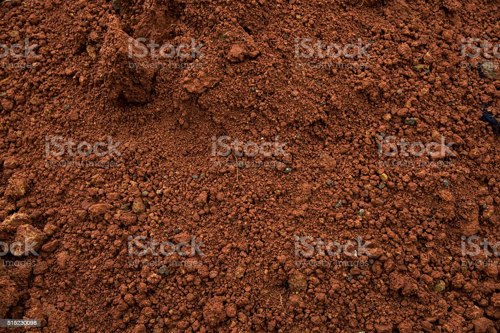 RED DIRT stock photo
